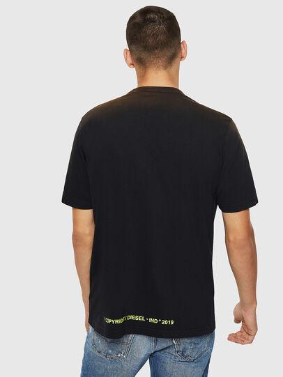 Diesel - T-DIKEL, Negro - Camisetas - Image 2