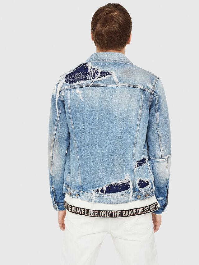 Diesel - NHILL-TM, Blue Jeans - Chaquetas de denim - Image 2