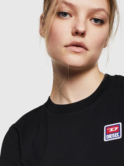 Diesel - T-SILY-ZE, Negro - Camisetas - Image 3