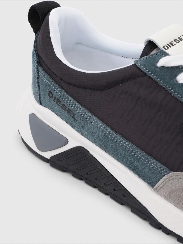 Diesel - S-KB LOW LACE, Gris/Azul - Sneakers - Image 4