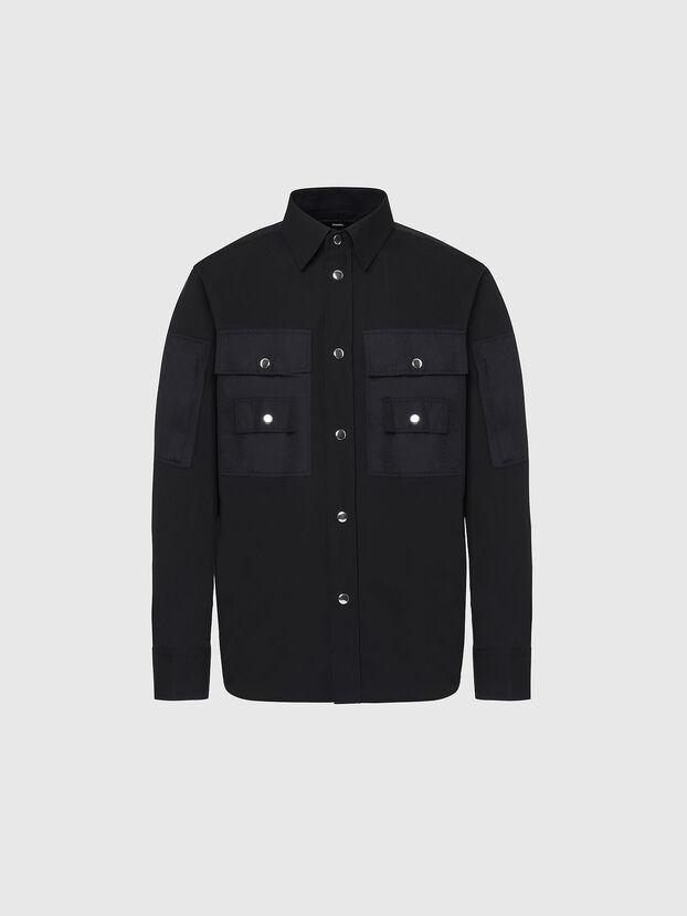 S-AUSTIN, Negro - Camisas