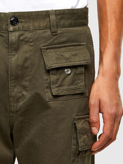 Diesel - P-COR, Verde Militar - Pantalones - Image 3