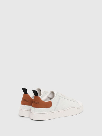 Diesel - S-CLEVER LOW LACE, Blanco/Marrón - Sneakers - Image 3