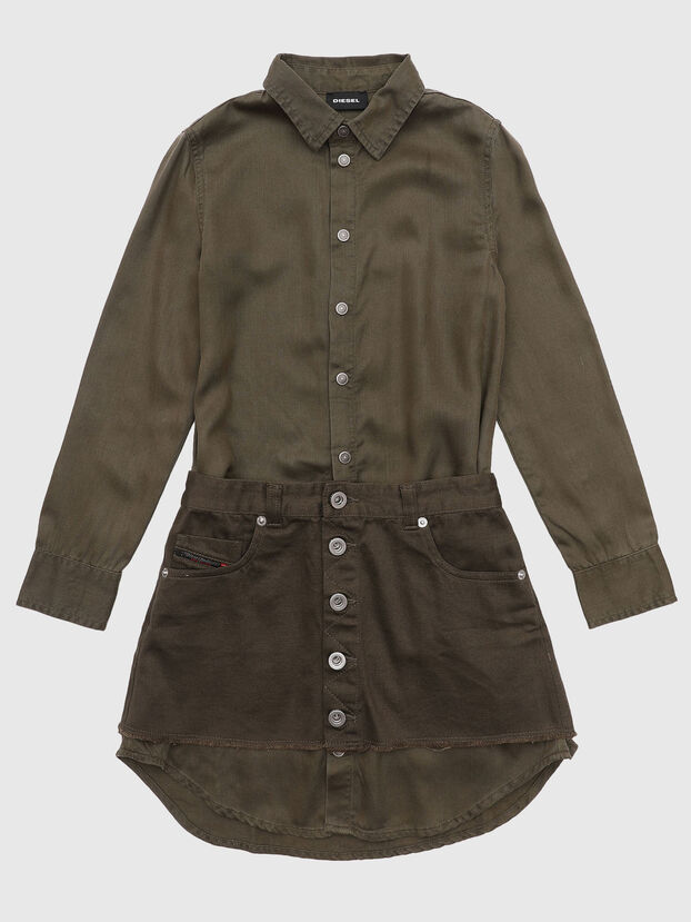 DESYZ, Verde Militar - Vestidos