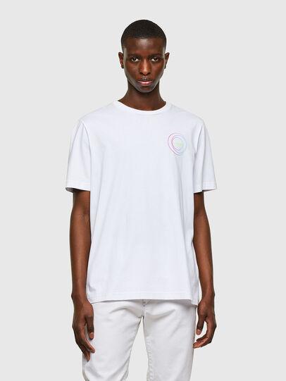 Diesel - T-JUST-E8, Blanco - Camisetas - Image 1