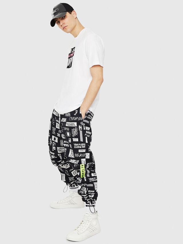 Diesel - T-JUST-Y23, Blanco - Camisetas - Image 5