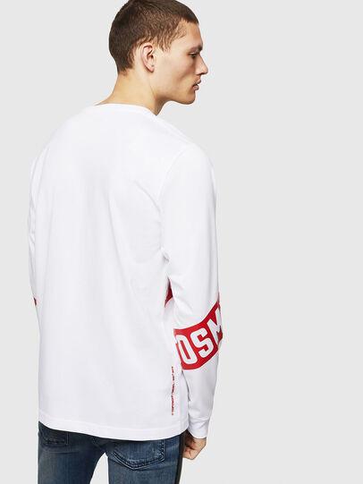 Diesel - T-JUST-LS-STAR, Blanco - Camisetas - Image 2