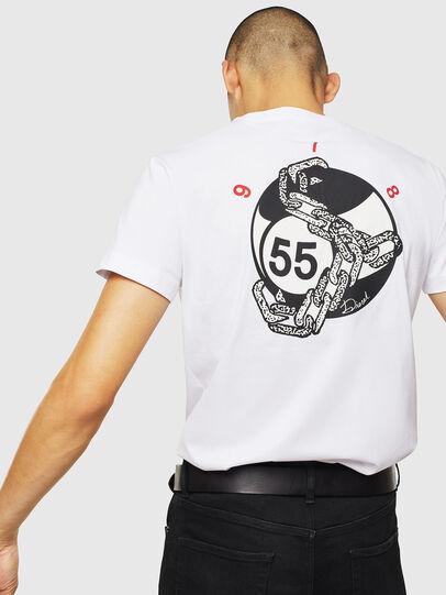 Diesel - T-DIEGO-J16, Blanco - Camisetas - Image 4