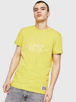 T-DIEGO-CUT-A, Amarillo - Camisetas