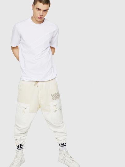 Diesel - T-ALEKSEY, Blanco - Camisetas - Image 5