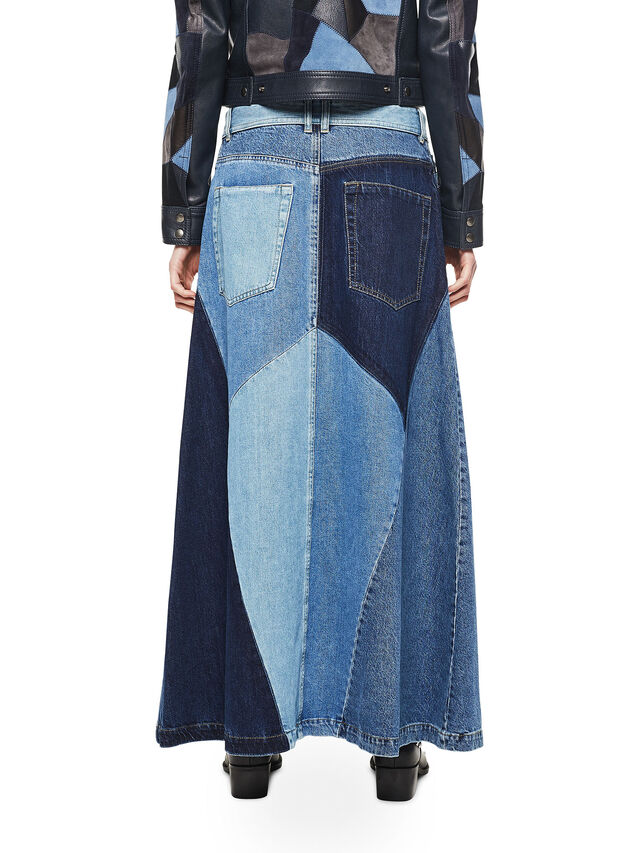 Diesel - ODETTE, Blue Jeans - Faldas - Image 2