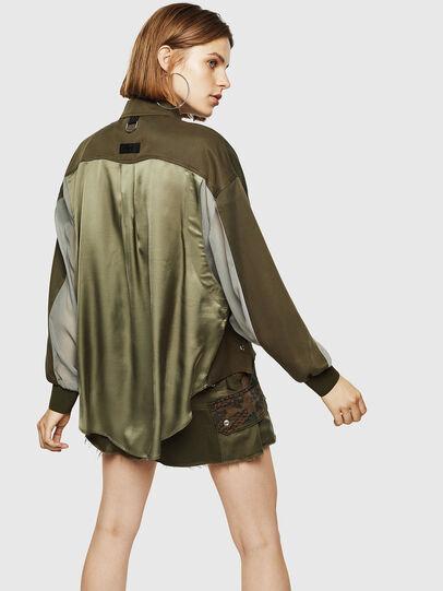 Diesel - C-LEXYS, Verde Militar - Camisas - Image 2