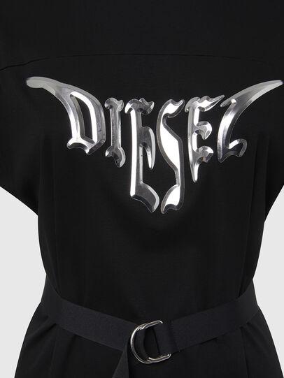 Diesel - D-FLIX-C, Negro - Vestidos - Image 4