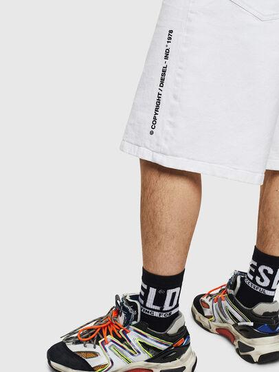 Diesel - D-BRON, Blanco - Shorts - Image 5
