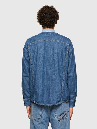 Diesel - DxD-SHIRT, Azul medio - Camisas de Denim - Image 3