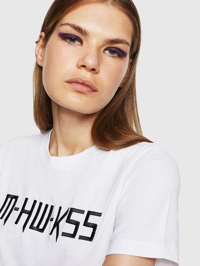 Diesel - T-SILY-WK, Blanco - Camisetas - Image 3