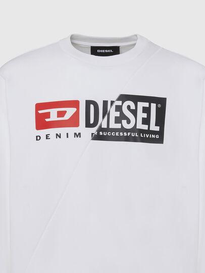 Diesel - S-GIRK-CUTY, Blanco - Sudaderas - Image 3