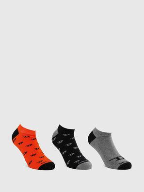 SKM-GOST-THREEPACK, Negro/Gris - Calcetines
