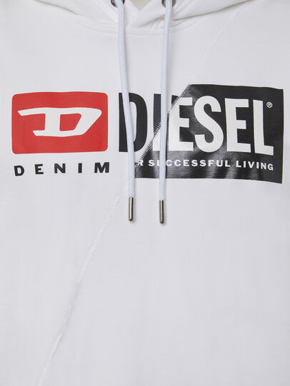 Diesel - F-ANG-HOOD-CUTY, Blanco - Sudaderas - Image 3