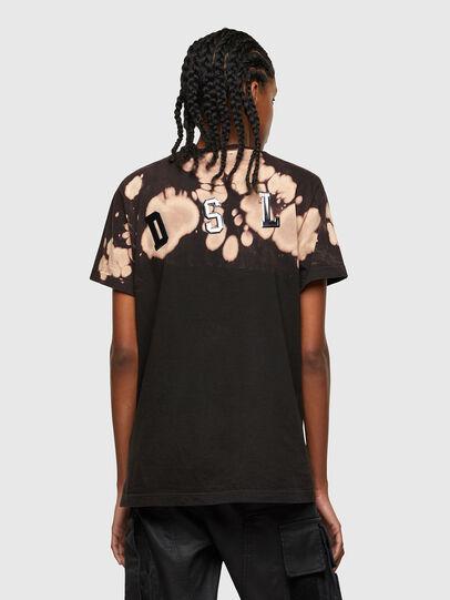 Diesel - T-DARIA-R4, Negro - Camisetas - Image 2