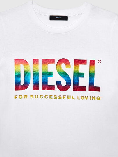 Diesel - BFOWT-SILY-P, Blanco - Camisetas - Image 3