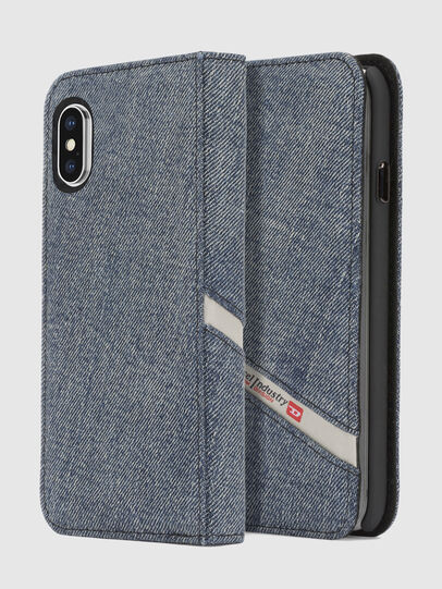 Diesel - DENIM IPHONE X FOLIO,  - Fundas tipo libro - Image 1