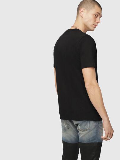 Diesel - T-JUST-DIVISION, Negro - Camisetas - Image 2