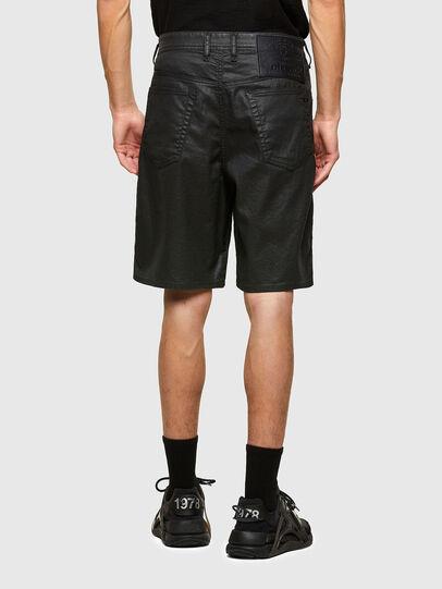 Diesel - D-WILLOH-X-SP JOGGJEANS, Negro - Shorts - Image 2