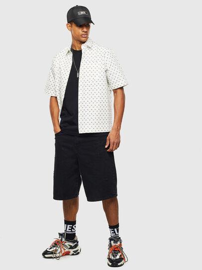 Diesel - S-ATWOOD-B, Blanco - Camisas - Image 4