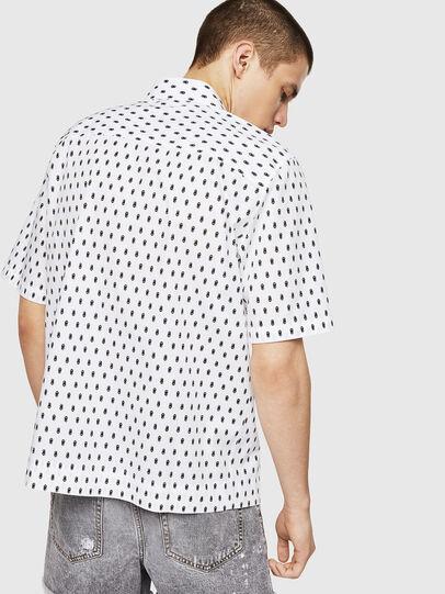 Diesel - S-FRY-SKULL, Blanco - Camisas - Image 2