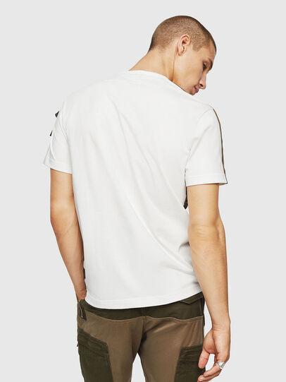 Diesel - T-VAS, Blanco - Camisetas - Image 2