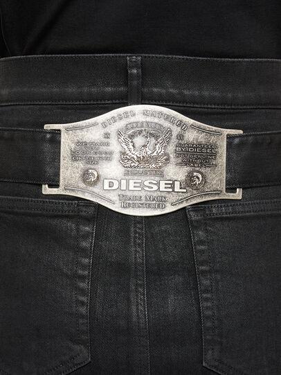 Diesel - DE-FEDY-SP, Negro - Faldas - Image 4