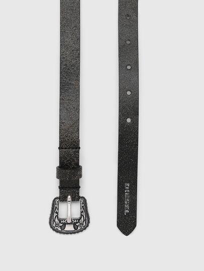 Diesel - B-TRIT, Negro - Cinturones - Image 3