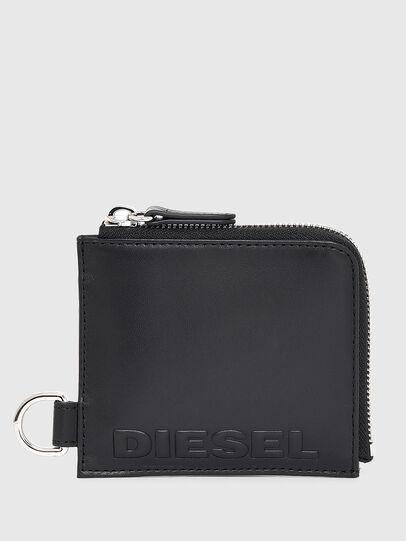 Diesel - L-ZIP CHAIN, Negro - Carteras Con Cremallera - Image 1