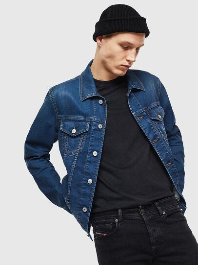 Diesel - NHILL JOGGJEANS, Blue Jeans - Chaquetas de denim - Image 4