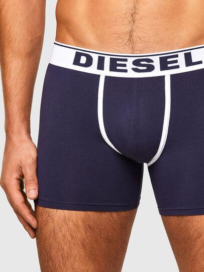 Diesel - UMBX-SEBASTIANTHREEP, Azul marino/Blanco - Boxers - Image 4