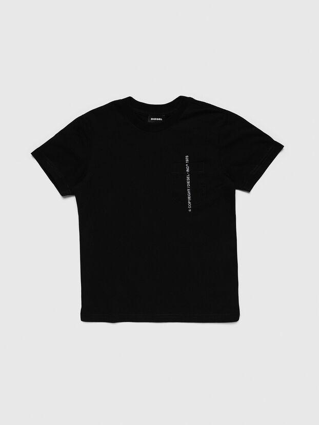 TJUSTPOCKETCOPY, Negro - Camisetas y Tops
