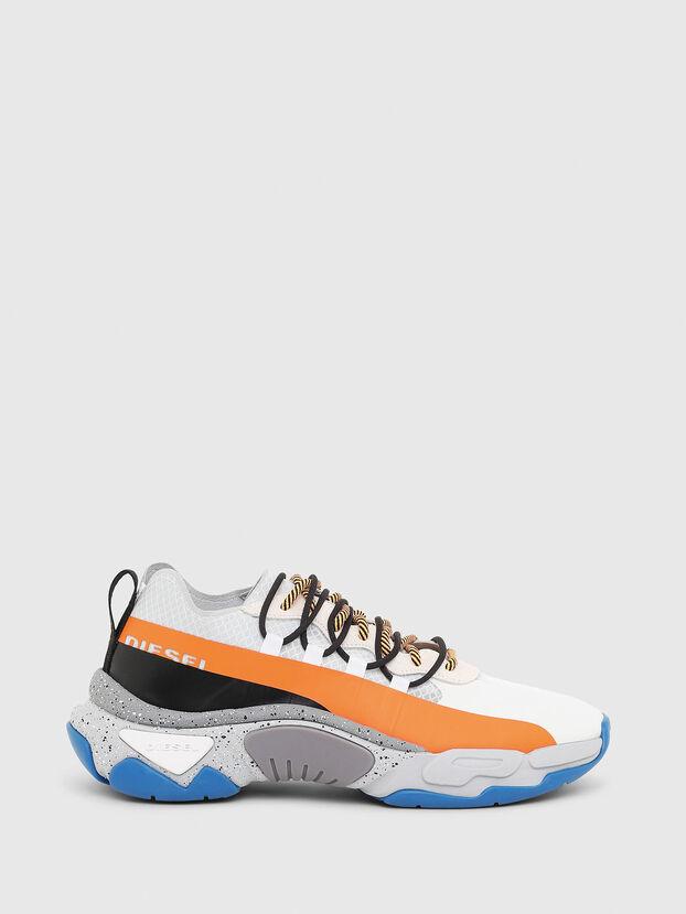 S-KIPPER BAND, Blanco/Naranja - Sneakers