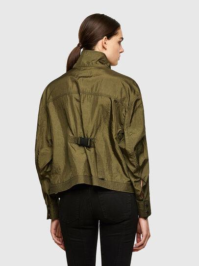 Diesel - C-CORAL, Verde Militar - Camisas - Image 2