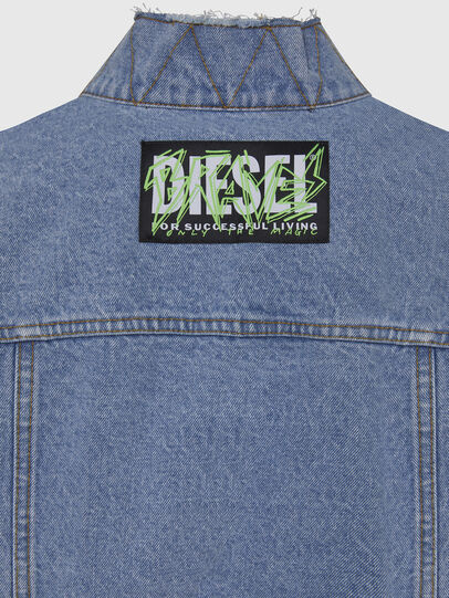 Diesel - G-DANIEL, Azul marino/Verde - Chaquetas - Image 5