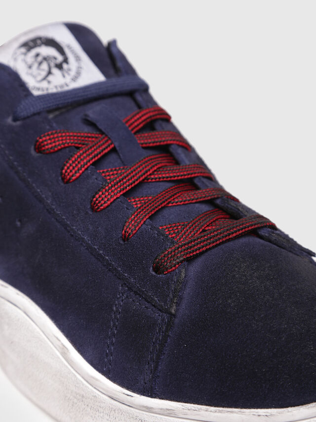 Diesel - S-CLEVER LOW, Azul Oscuro - Sneakers - Image 4