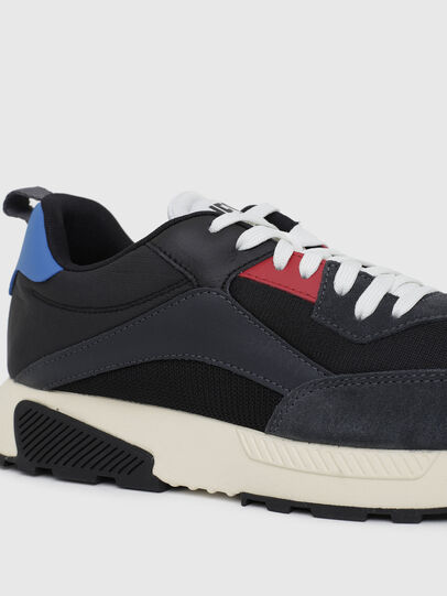 Diesel - S-TYCHE LOW CUT, Azul Oscuro - Sneakers - Image 4