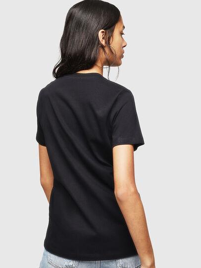 Diesel - T-SILY-WX, Negro - Camisetas - Image 2