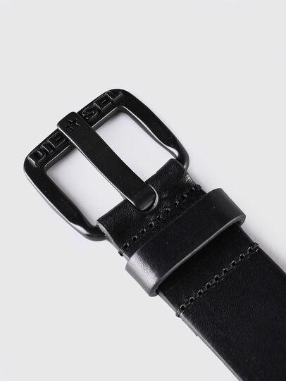 Diesel - B-STAR, Piel Negra - Cinturones - Image 2