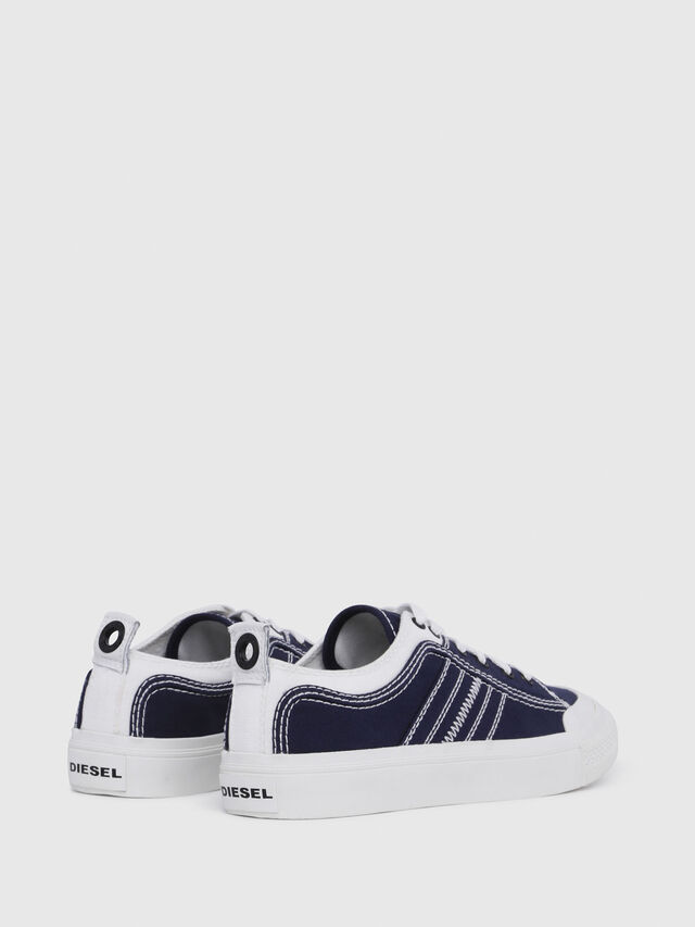 Diesel - S-ASTICO LOW LACE W, Azul/Blanco - Sneakers - Image 3