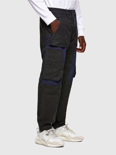Diesel - D-Eluxerr JoggJeans® 0DDAV, Negro/Gris oscuro - Vaqueros - Image 2