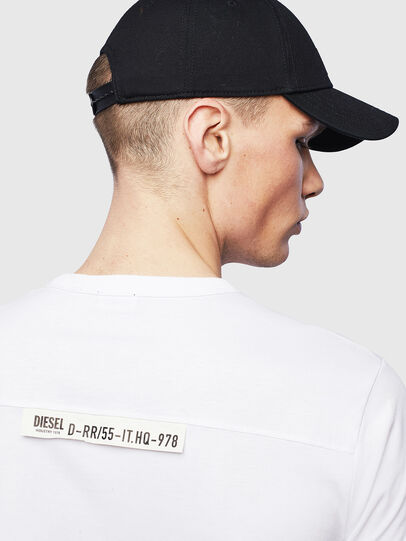 Diesel - T-RABEN-POCKET, Blanco - Camisetas - Image 6