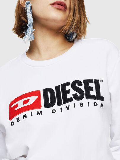 Diesel - F-GIR-DIVISION-FL, Blanco - Sudaderas - Image 3