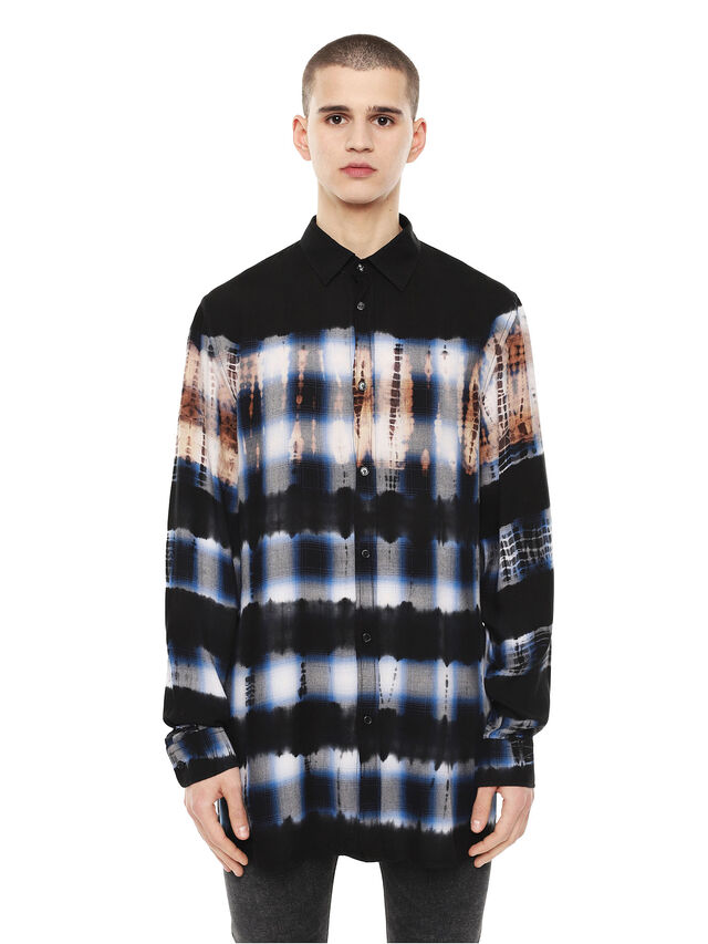 Diesel - SAMOUT, Azul Oscuro - Camisas - Image 1
