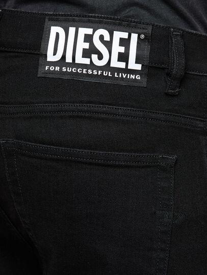 Diesel - D-Amny 009KR, Negro/Gris oscuro - Vaqueros - Image 5